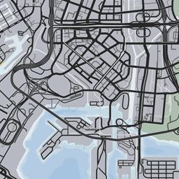 Interactive GTA V Glitch map